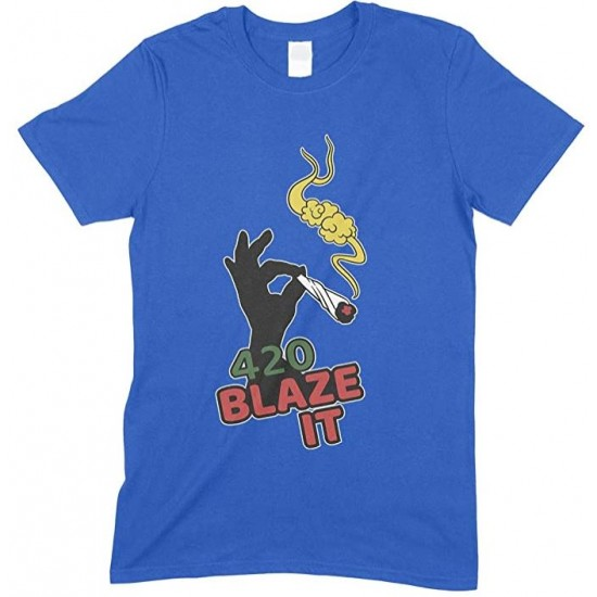420 Blaze IT Weed- Men's Funny T Shirt