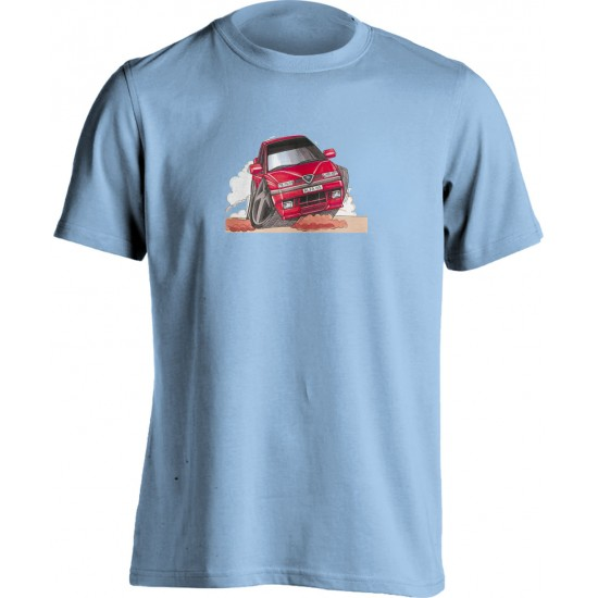 Koolart 155-0351 Red Alfa Romeo Child's T Shirt