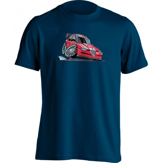 Koolart 156 Touring Car Red – 0045 Alfa Romeo Child's T Shirt