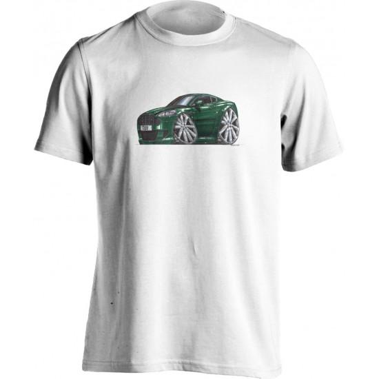 Koolart Aston Martin DB9 Green-1793 Child's T Shirt