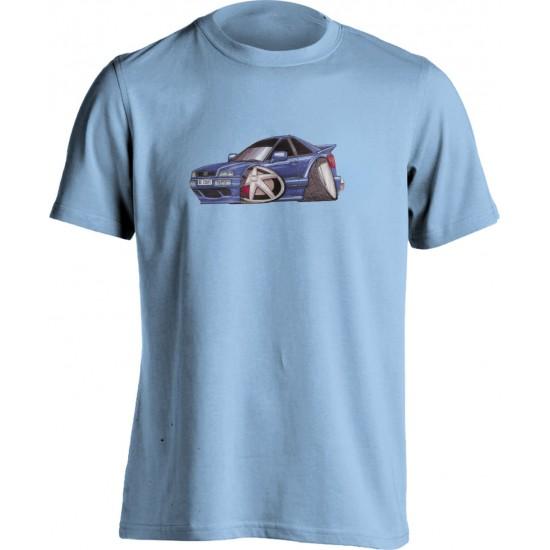 Adults Unisex Koolart Audi 80 Coupe Blue0382 T Shirt