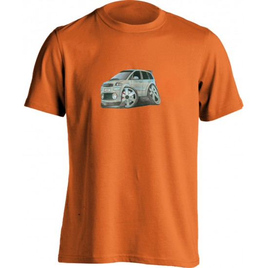 Adults Koolart Audi A2 Silver 0741 T Shirt