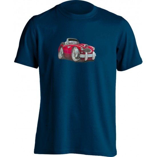 Adults Koolart Austin Healey 3000 Red 0721 T Shirt
