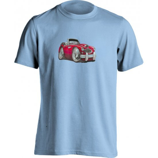 Koolart Austin Healey 3000 Red 0721 Child's T Shirt