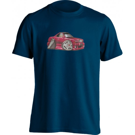Koolart Bentley Continental Red-0707-Unisex Adults T Shirt