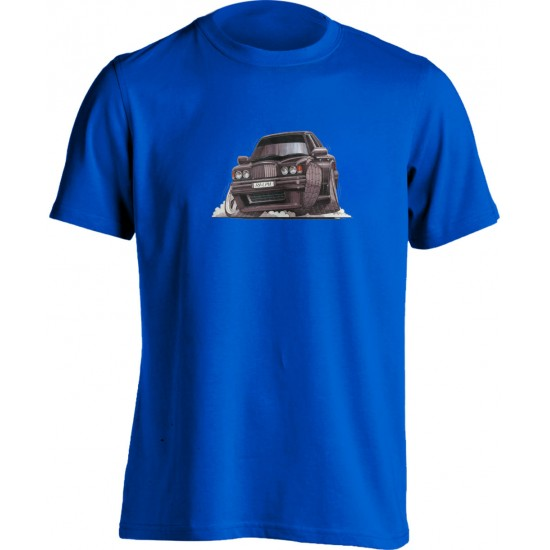 Koolart Bentley Type R Turbo Black-0673-Adults Unisex T Shirt