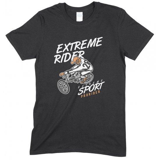 Extreme Rider- Extreme Sport BMX-Unisex Adults T Shirt