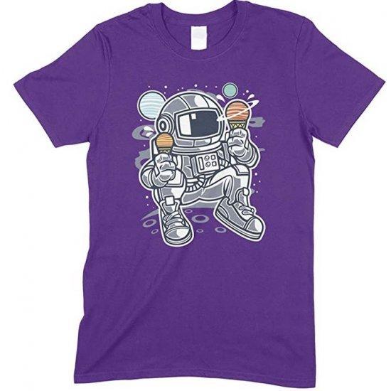 Astronaut Ice Cream Space T Shirt Boy/GirlChildren's