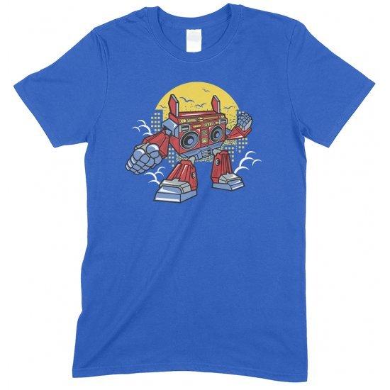 Boombox Robot Funny Boy/Girl Children's T Shirt
