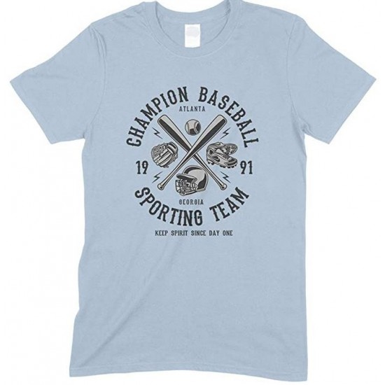 Champion Baseball Sporting Team Keep Spirit Since Day One - Child's T Shirt Boy-Girl