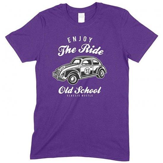 Enjoy The Ride Old School Classic Beetle - Men's Unisex T Shirt