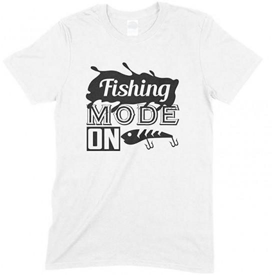 Fishing Mode On-Adult'sUnisex T Shirt