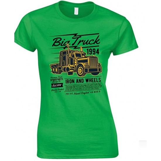 Big Truck 1994 Iron and Wheels- Ladies T Shirt