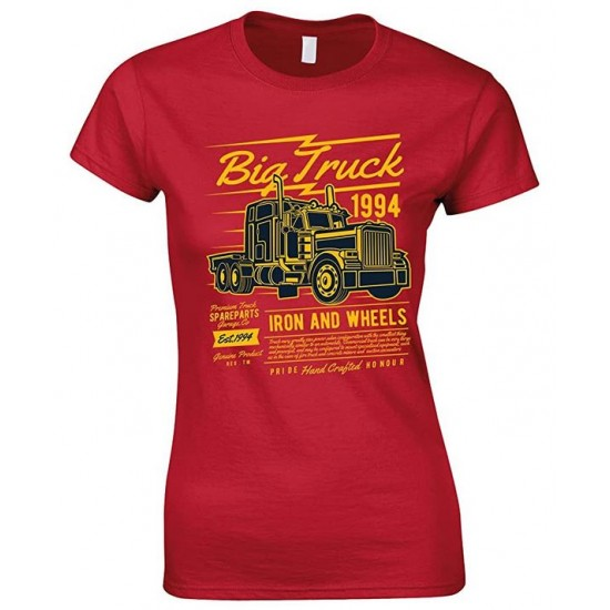 Big Truck 1994 Iron and Wheels- Ladies T Shirt