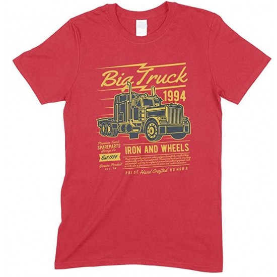 Big Truck 1994 Iron and Wheels- Children's T Shirt Boy-Girl