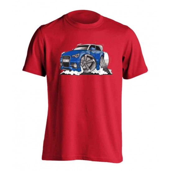 Adults Koolart Audi A1 3148 Blue T Shirt