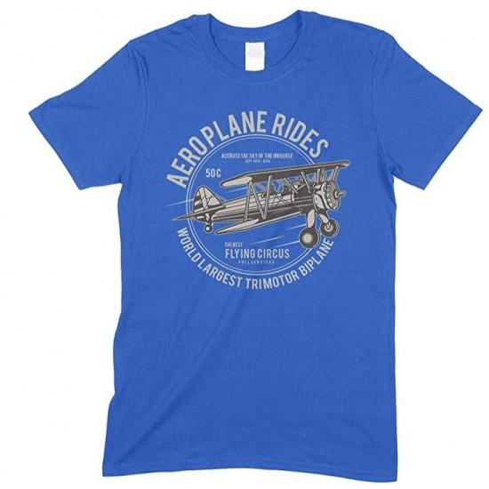 Aeroplane Ride World Largest Trimotor Biplane Child's T Shirt Boy/Girl