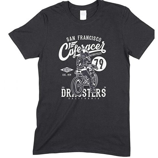 San Francisco Caferacer Motorcycles - Child's T Shirt -Boy-Girl