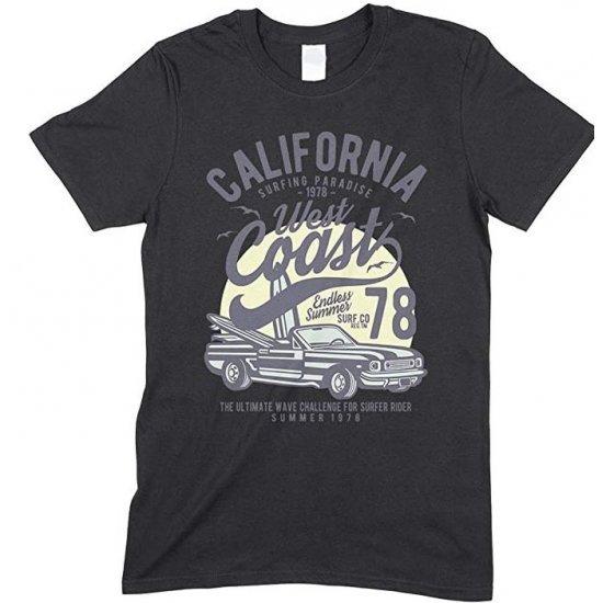 Children's- California Surfing paradise West Coast Endless Summer T Shirt -Boy - Girl