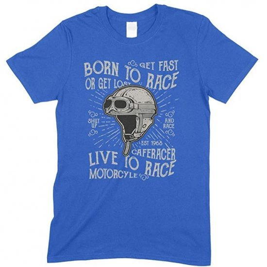 Born to Race - Live to Race Men's T Shirt