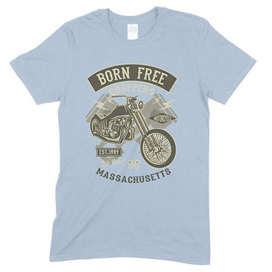 Born Free Choppers Massachusetts - Child's T Shirt Boy-Girl
