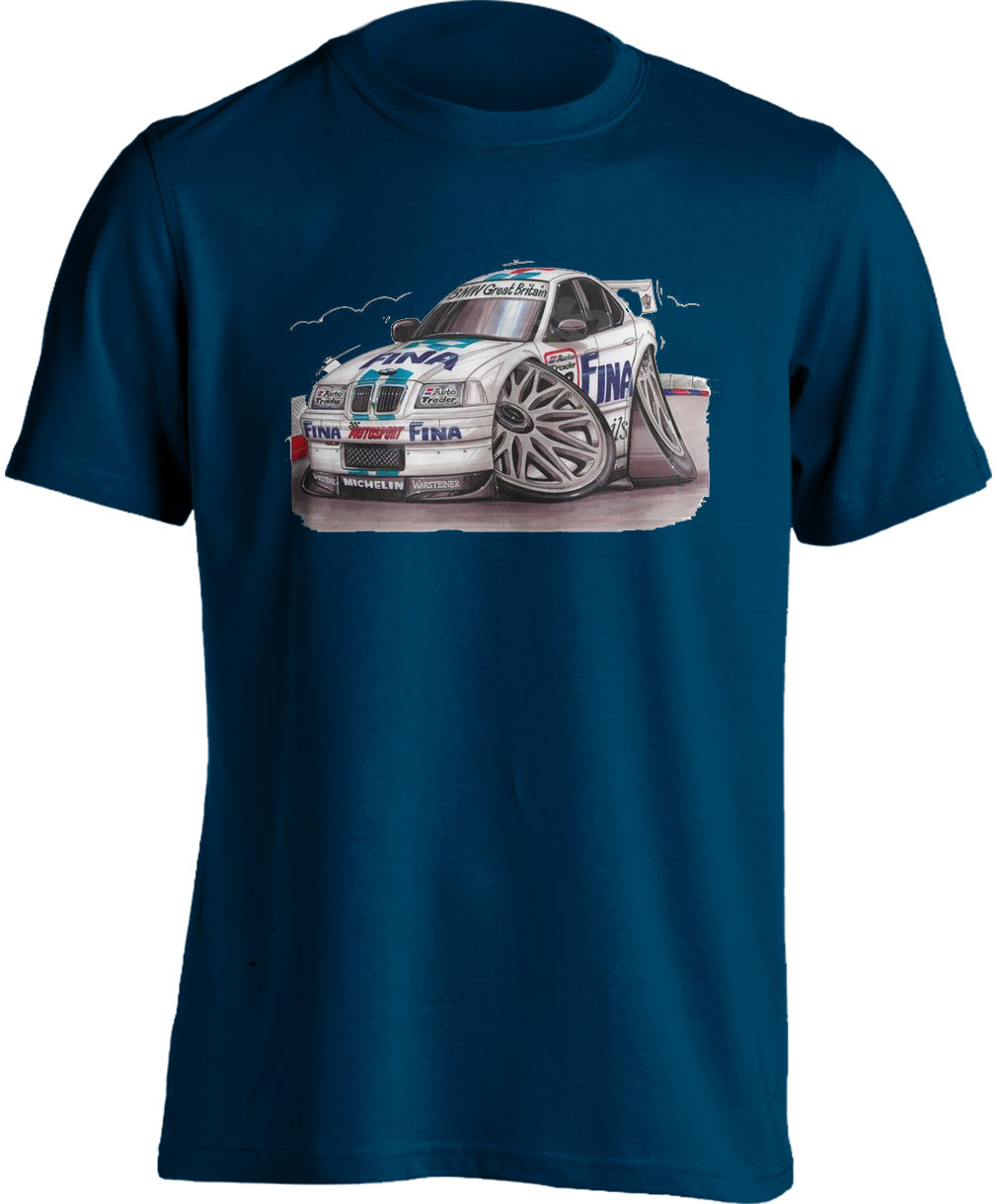 Koolart BMW 320I E36 Touring Car- 0574 -Adults Unisex  T Shirt