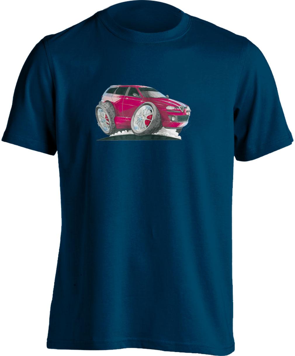 Koolart 156-1379Estate Red Alfa Romeo Child's T Shirt