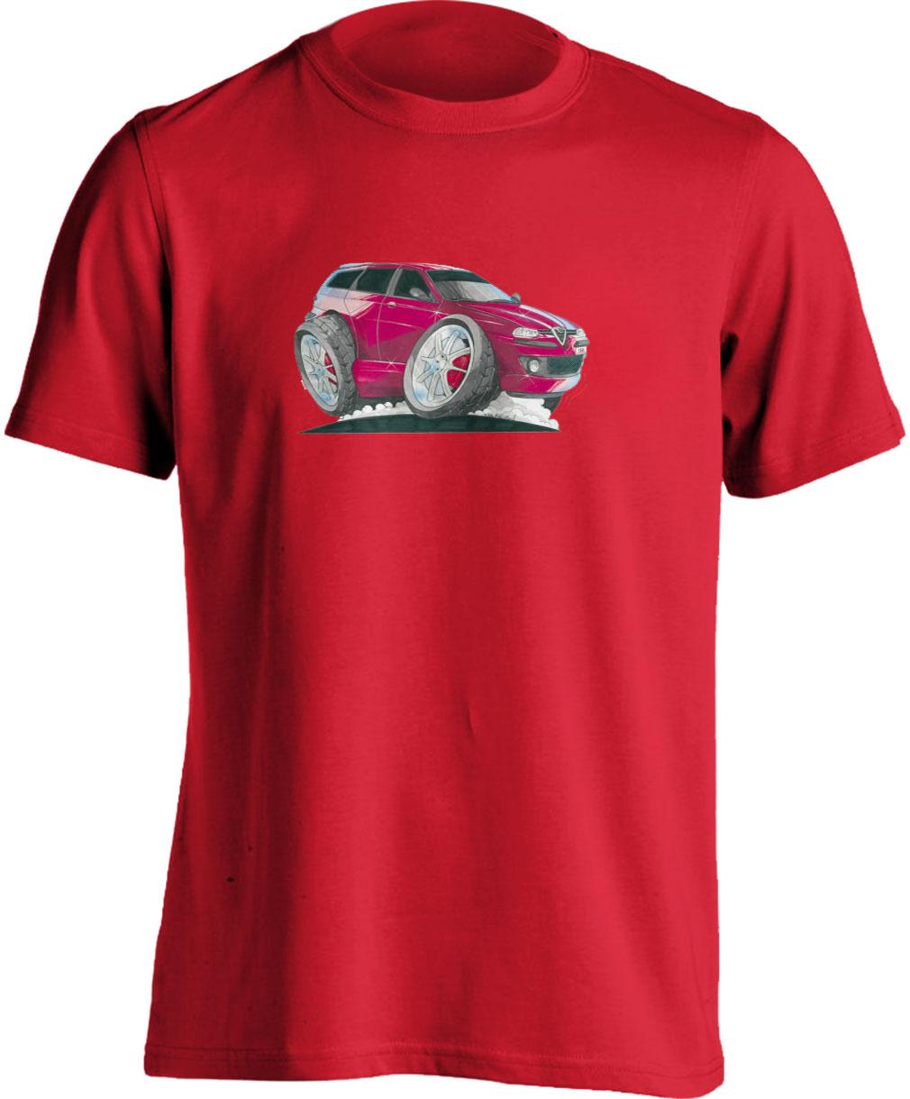 T Shirt 156 Koolart 1379 Red Estate
