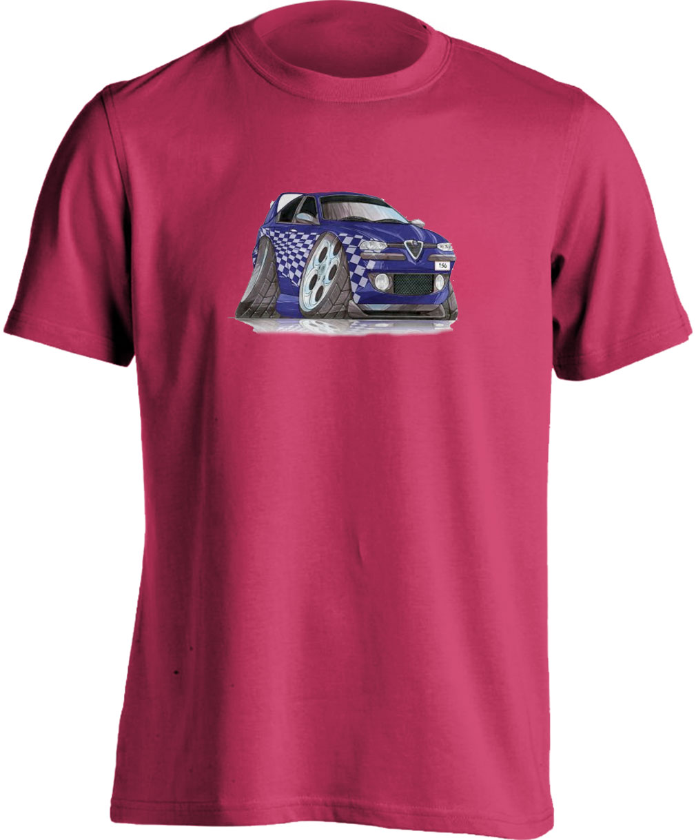 Koolart 156 Tuning Blue – 2783 Alfa Romeo Child's T Shirt