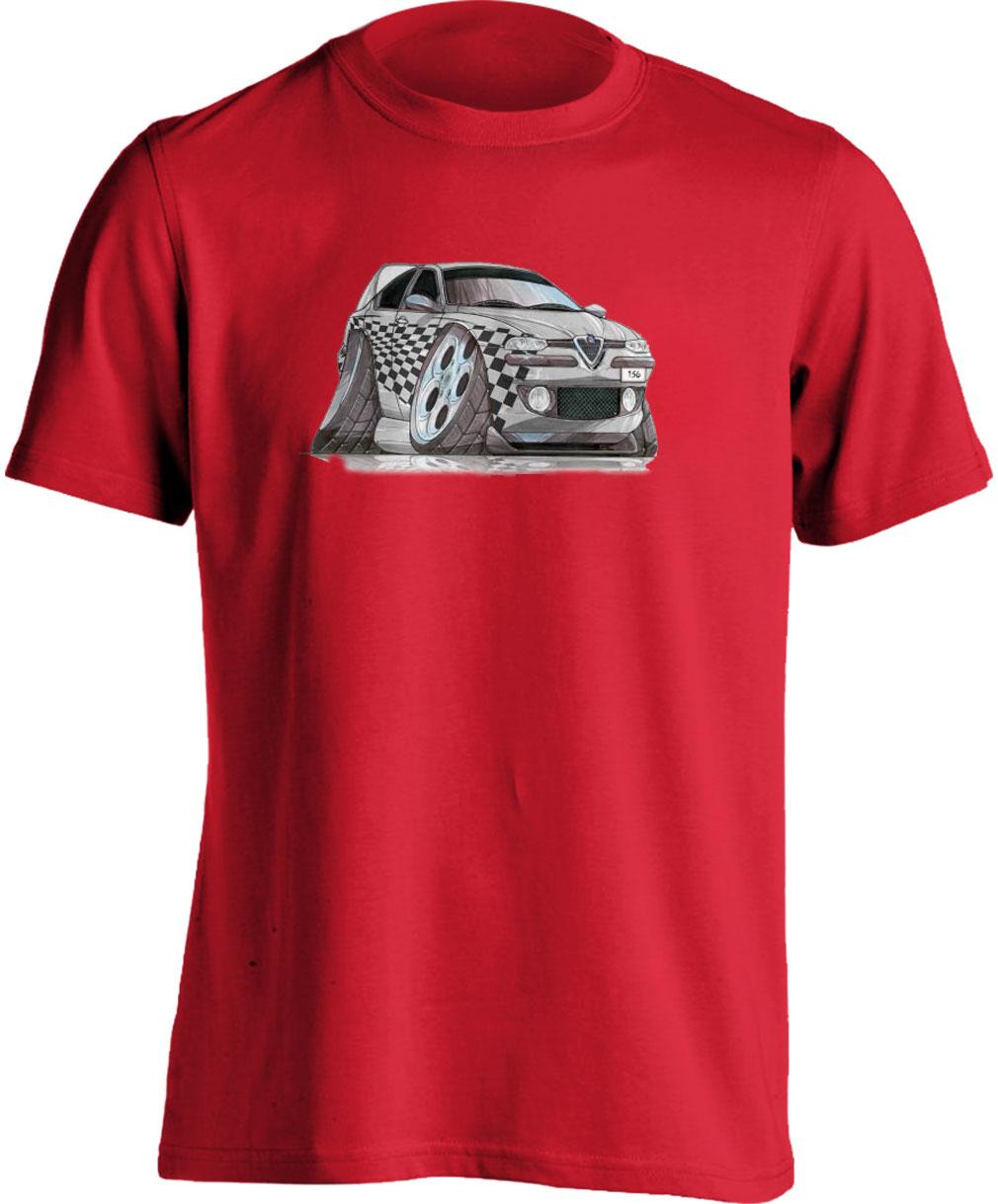 Koolart 156 Tuning Silver–2785 Alfa Romeo Child's T Shirt