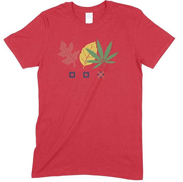 Three Leave Weed- Men's unisex T Shirt