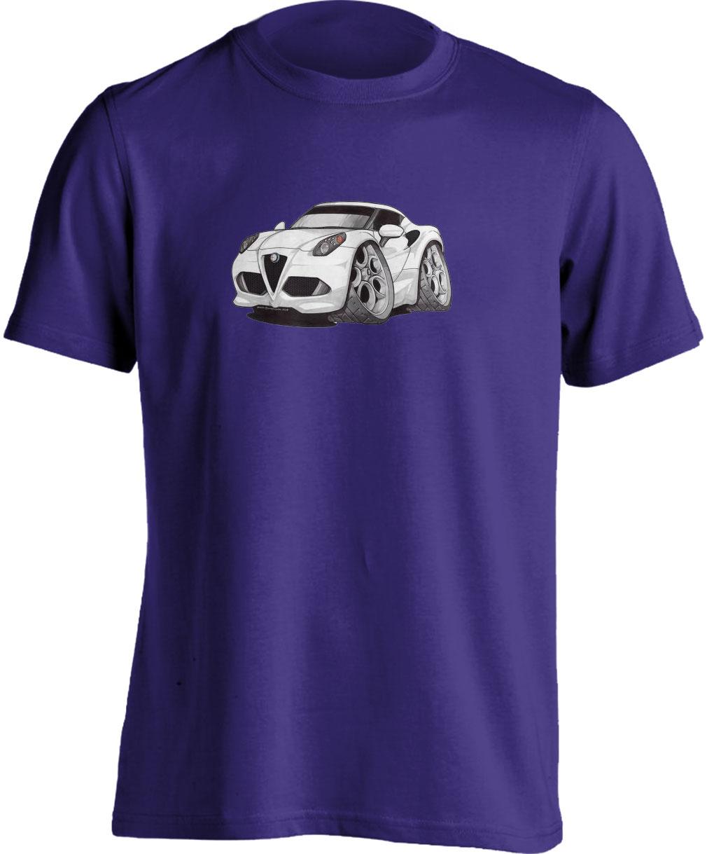 Koolart 4C White–3215 Alfa Romeo Child's T Shirt
