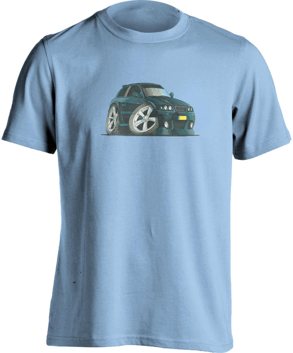 Adults Koolart Audi A3-1757 BlackT Shirt