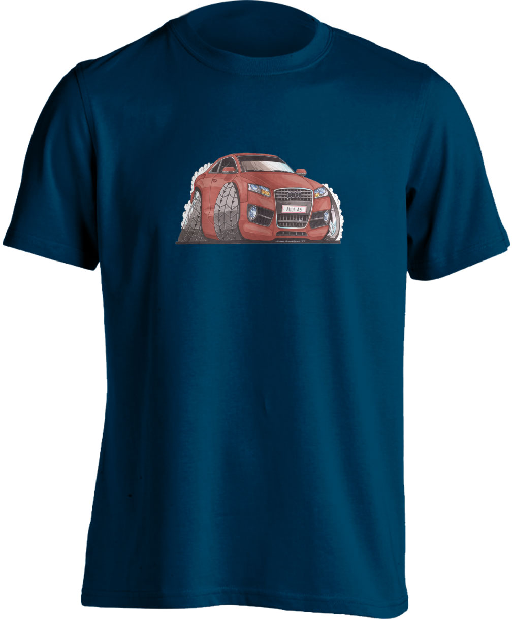 Koolart Audi A5 Red 2315 Child's T Shirt