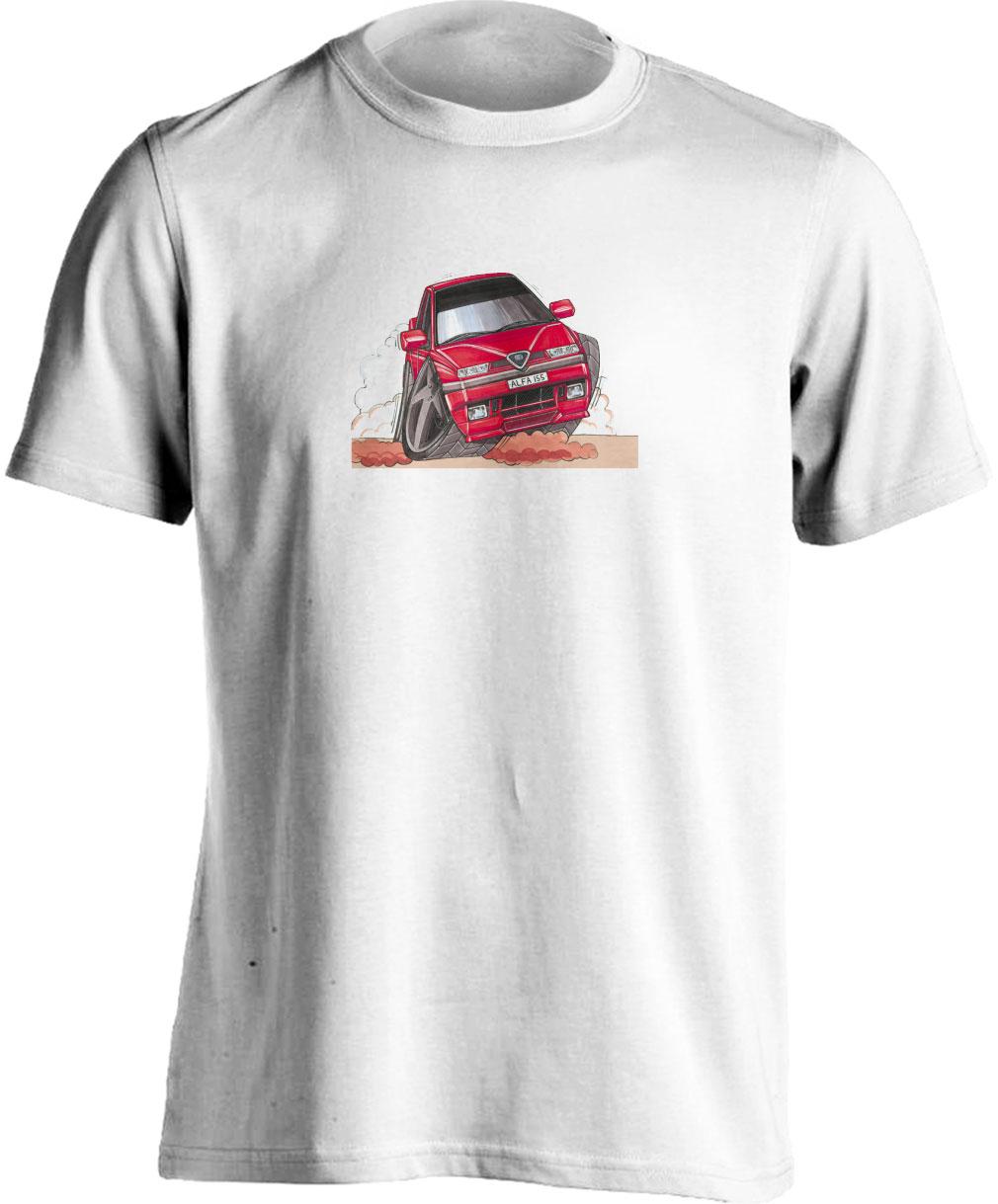 Koolart 155-0351 Red Alfa Romeo Child's T Shirt