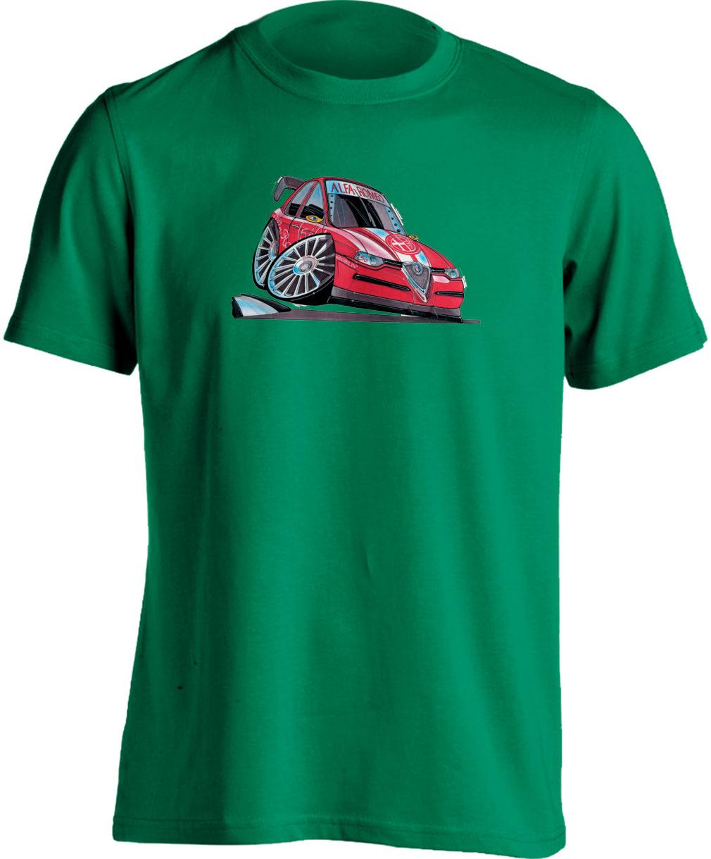 Koolart 156 Touring Car Red – 0045 Alfa Romeo Child's T Shirt