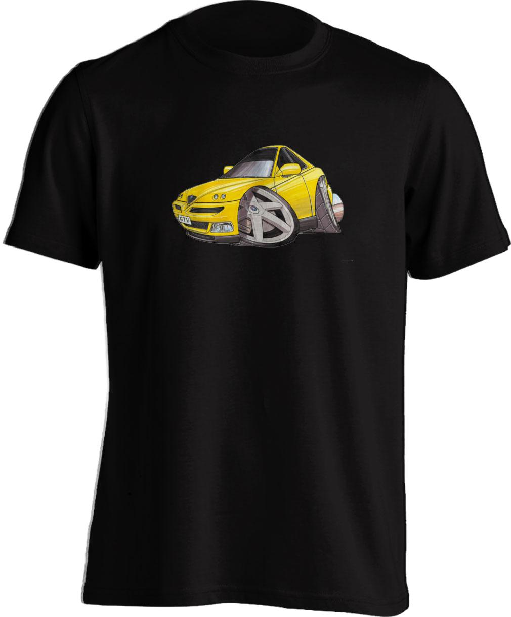 Koolart GTV Yellow–350 Alfa Romeo Child's T Shirt