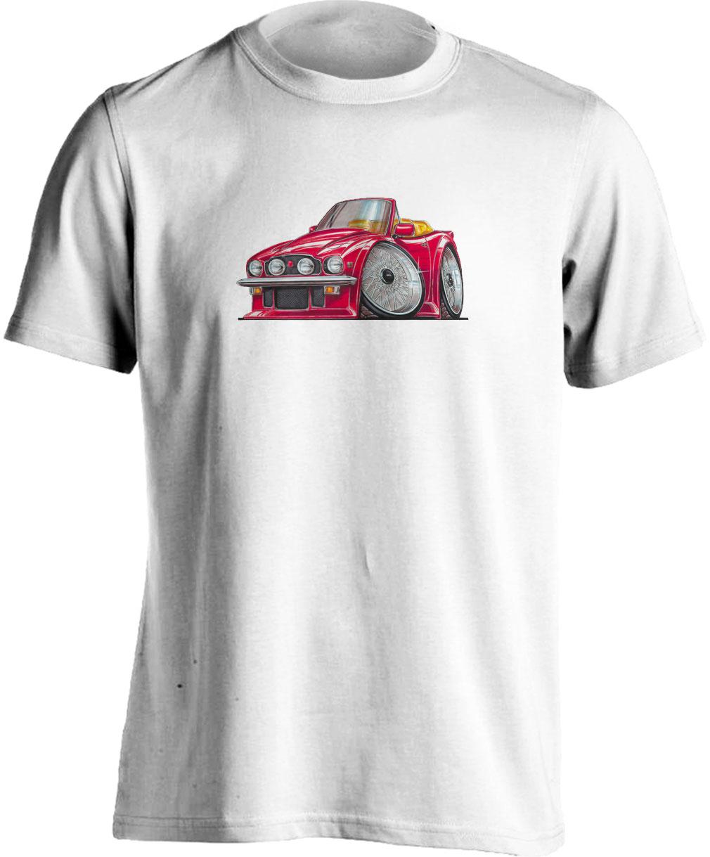 Koolart Aston Martin DB6 Cabrio Red-0526 Child's T Shirt