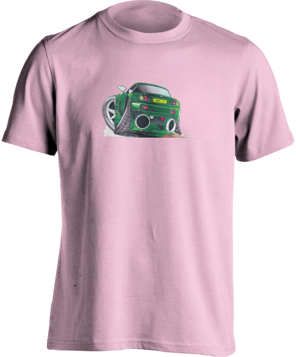 Koolart Aston Martin Vantage Green 1184 Child's T Shirt