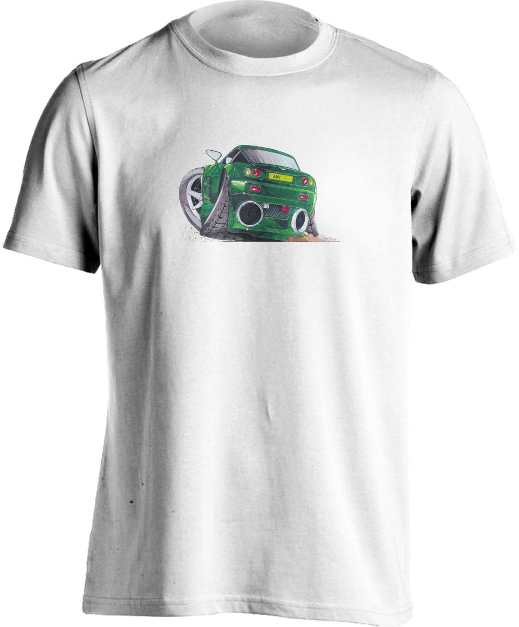 Adults Koolart Aston Martin Vantage Green 1184 T Shirt