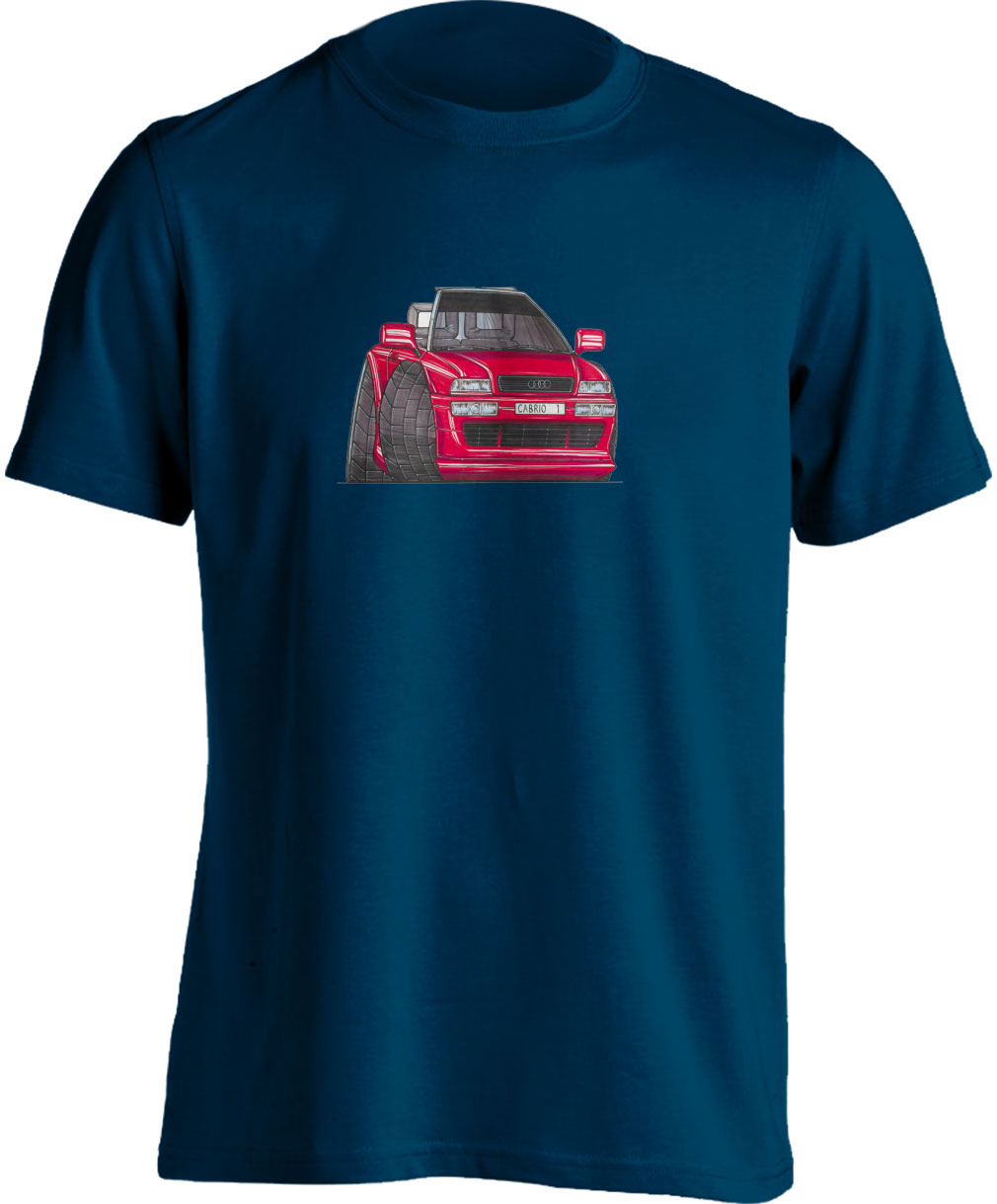Koolart Audi 80 Cabrio Red0377 Child's T Shirt