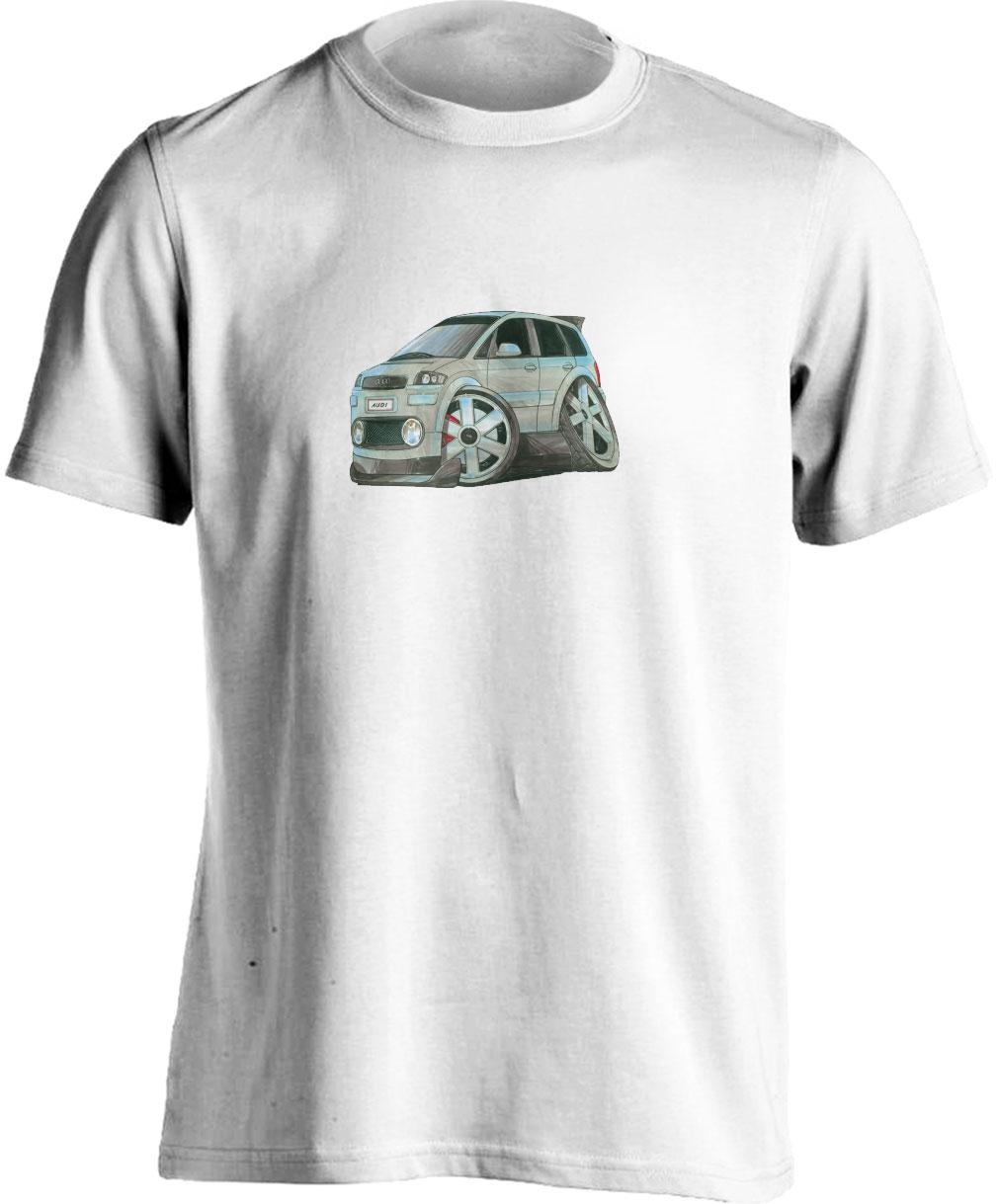 Adults Koolart Audi A2 Silver0741 T Shirt