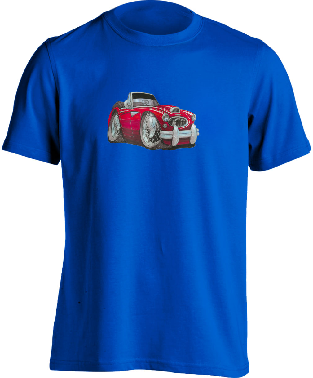 Koolart Austin Healey 3000 Red0721 Child's T Shirt