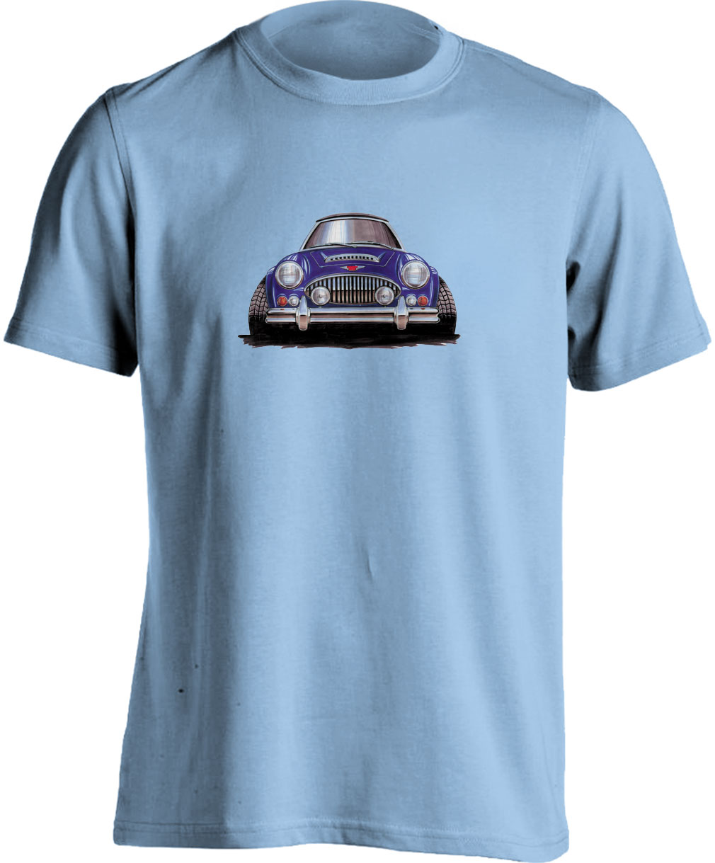 Adults Koolart Austin Healey 3000 - 0639Blue T Shirt
