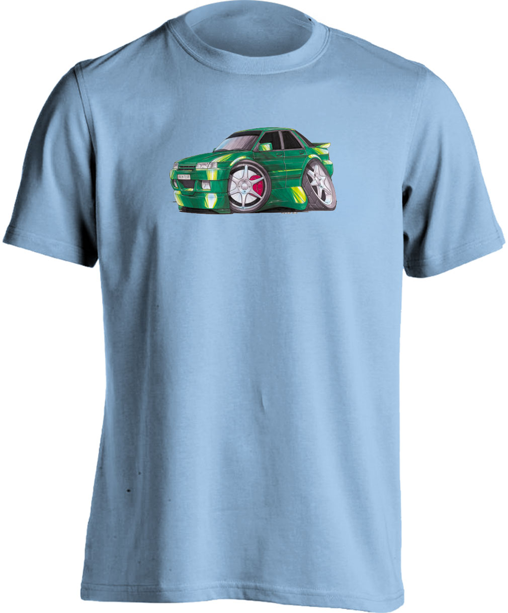 Koolart Austin Rover Montego Green– 1345 Adults T Shirt