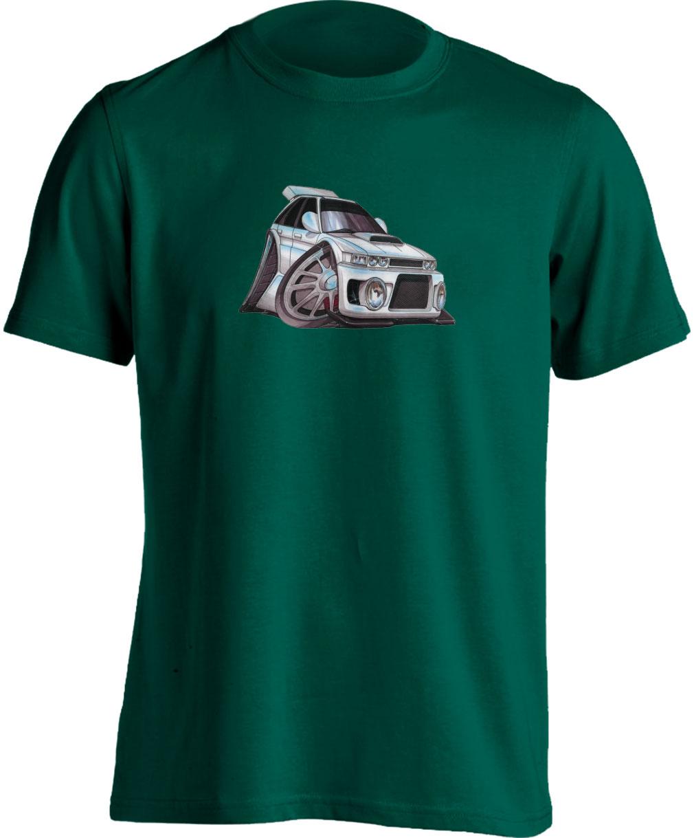 Koolart Austin Rover MG MAESTRO White– 0107-Adults Unisex T Shirt