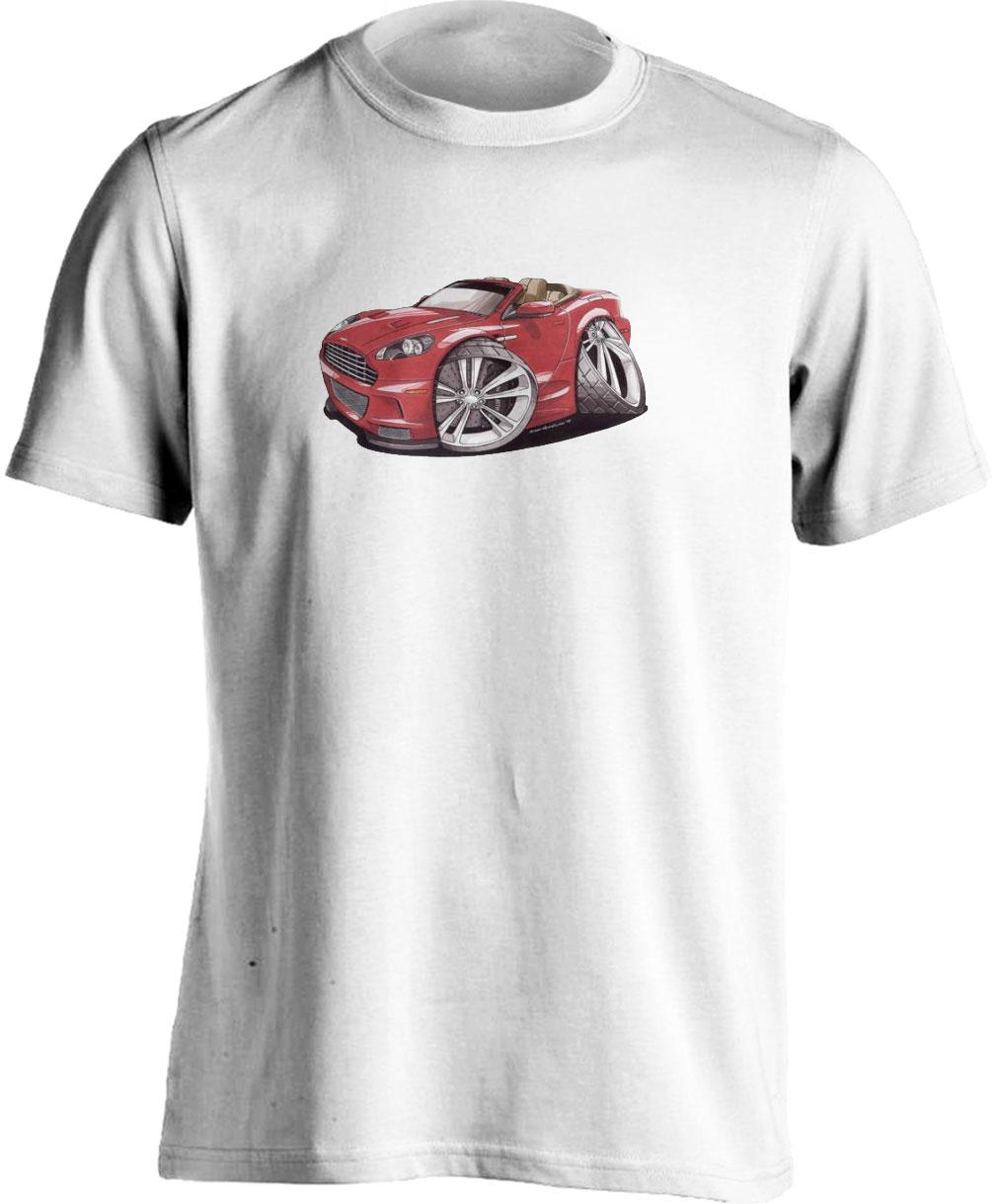 Koolart Aston Martin Volante Red 2893 Child's T Shirt