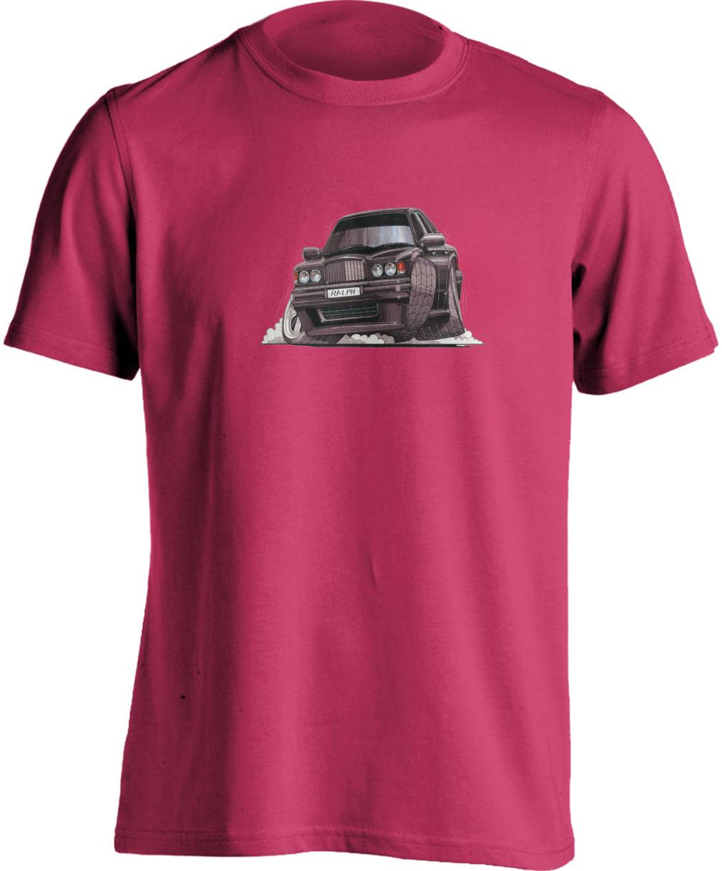 Koolart Bentley Type R Turbo Black-0673-Child's Unisex T Shirt