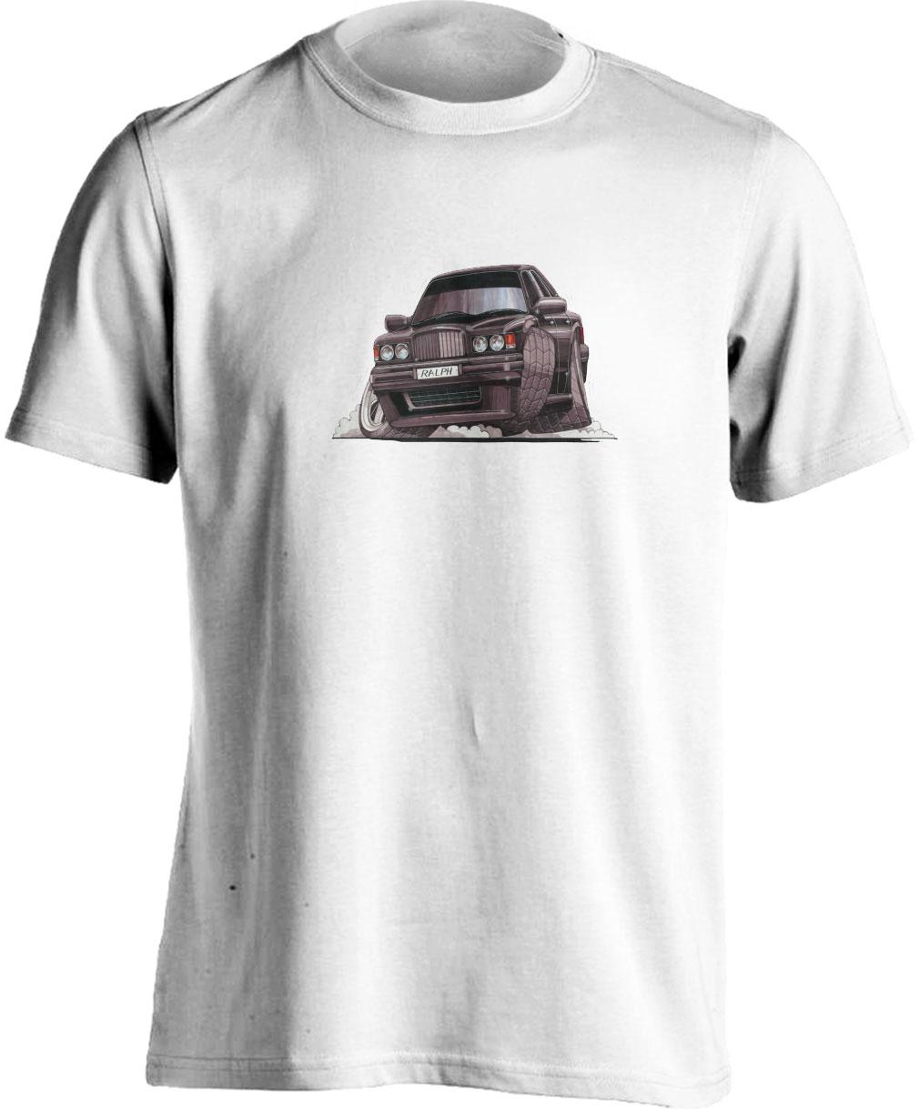 Koolart Bentley Type R Turbo Black-0673-Adults Unisex T Shirt