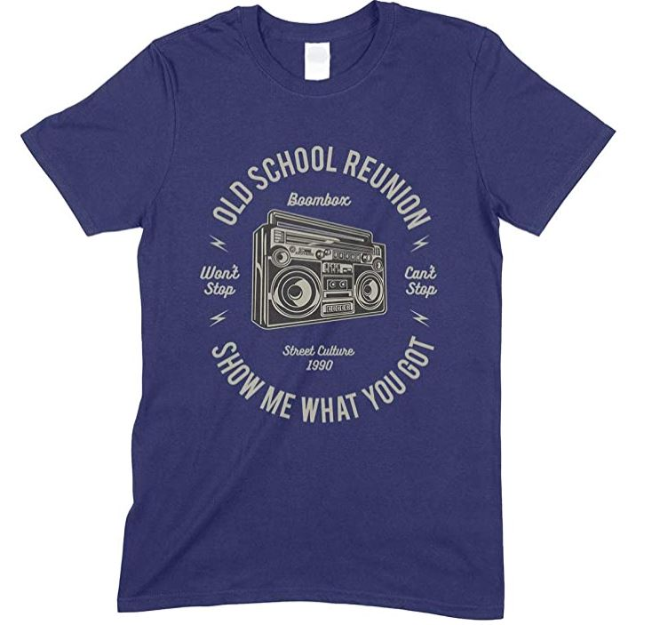 Boombox-Old School Reunion Show Me What You Got-Mens T Shirt